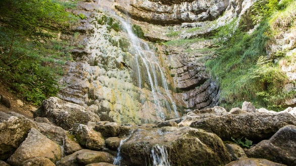 The Ofentol Waterfall
