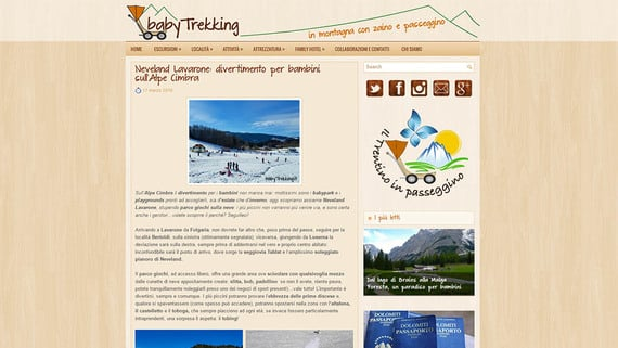 Neveland Lavarone: divertimento per bambini sull'Alpe Cimbra by babytrekking.it