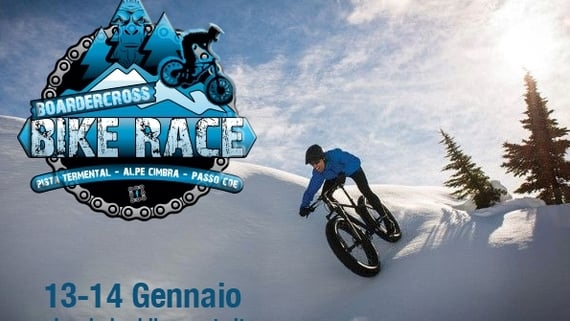 BORDERCROSS BIKE RACE sulla neve