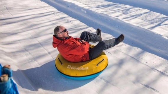 Sledging and Snow Tubing